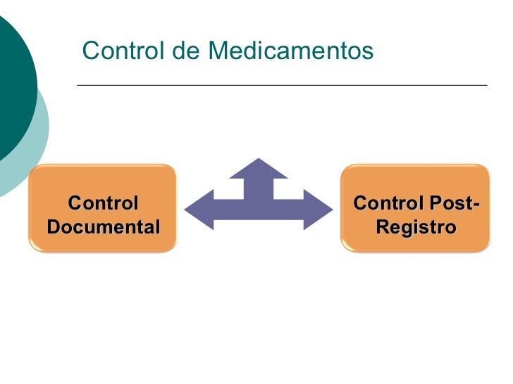 Control de Medicamentos