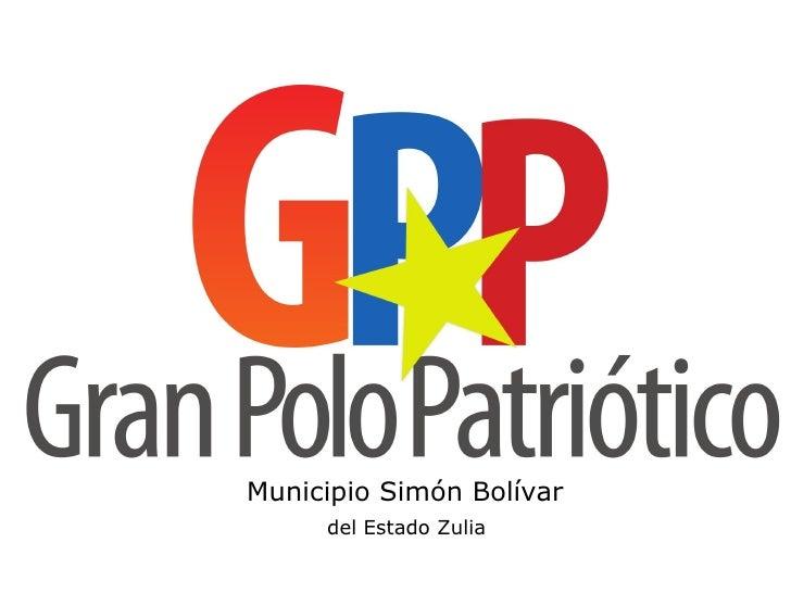 Municipio Simón Bolívar     del Estado Zulia