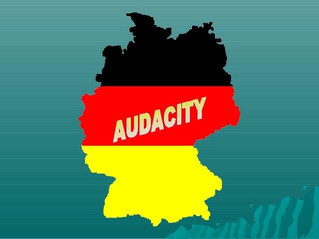 ¿QUÉ ES AUDACITY?•Audacity es una aplicación informática multiplataformaque se puede usar para grabación de audio y edició...