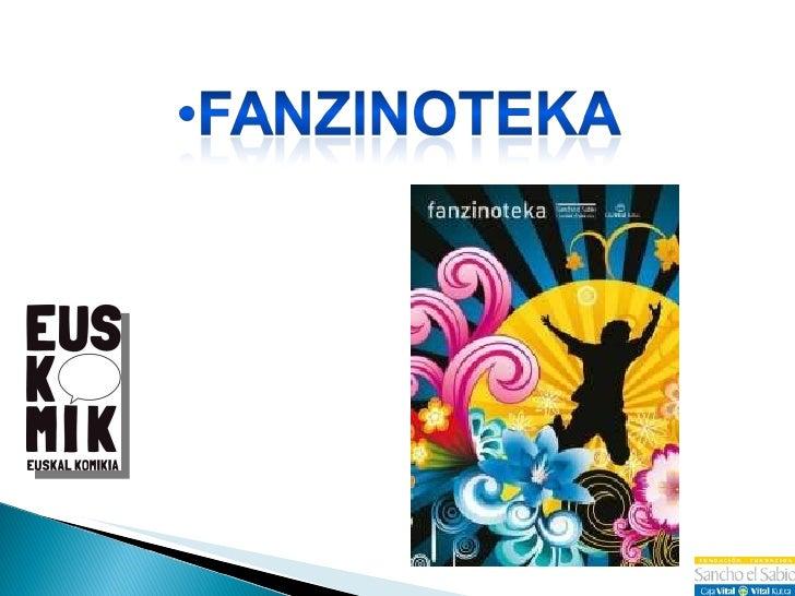 Presentación en Barcelona de Fanzinoteka