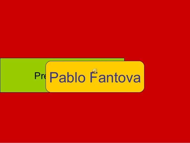 PresentaciónPablo Fantova