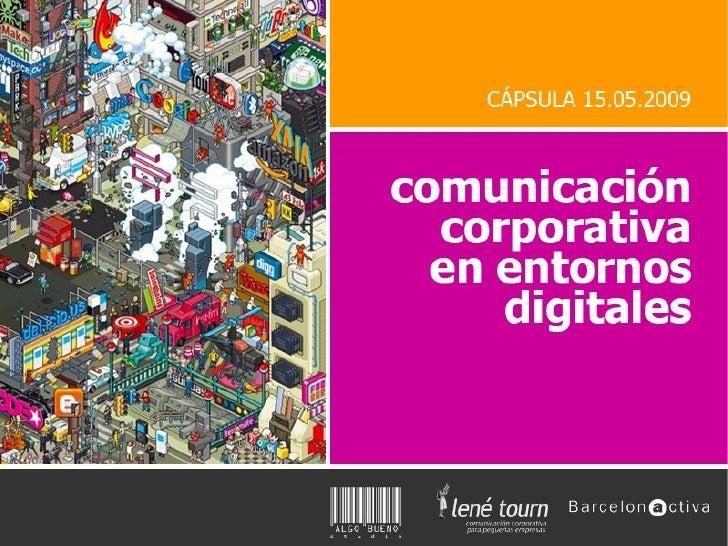 Comunicación interactiva en entornos digitales