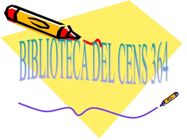 Presentación biblioteca cens