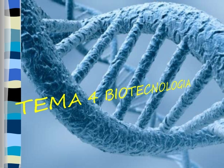 Biotecnologia.