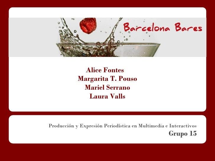 Alice Fontes                Margarita T. Pouso     ...