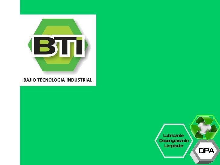 PresentacióN Bti V.02