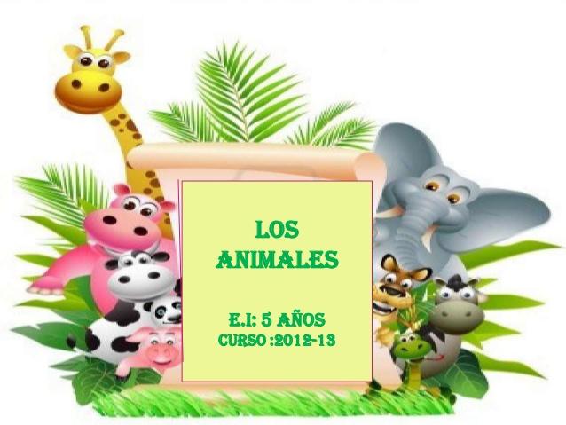 Presentación animales
