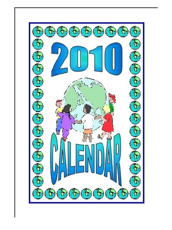 Presentación calendario 2010