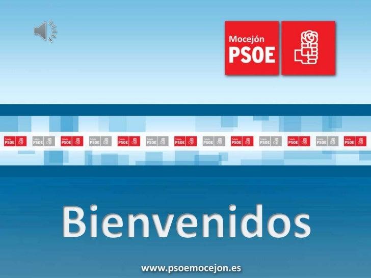 Presentación candidatura PSOE Mocejón 2011