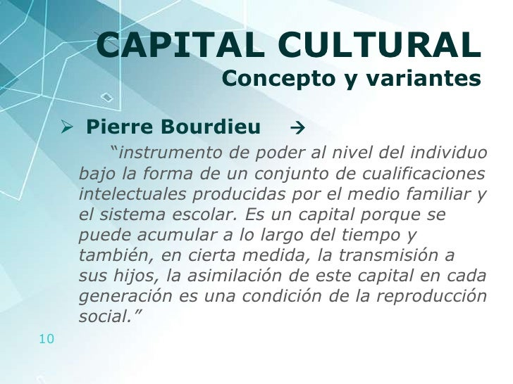 bourdieus theory of cultural development Cultural capital while he didn't consider himself a marxist sociologist, the theories of karl marx heavily influenced bourdieu's thinking marx's influence is perhaps most evident in bourdieu's theory of cultural capital.