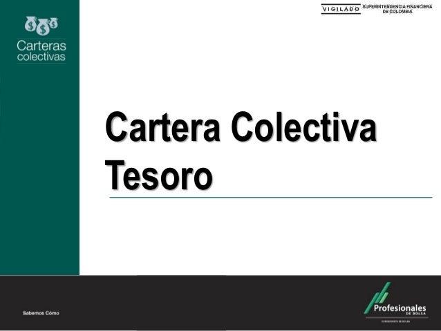 Cartera Colectiva Tesoro
