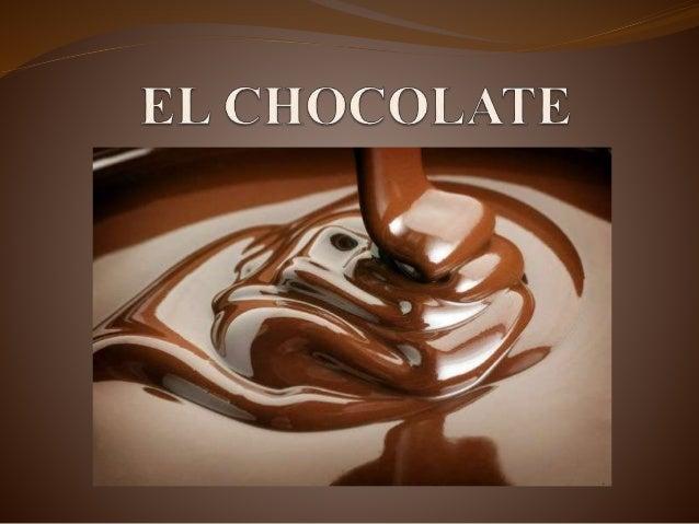 El chocolate es un alimento desarrollado en el siglo XIX que tiene como base el cacao. Este es un grano que se obtiene del...