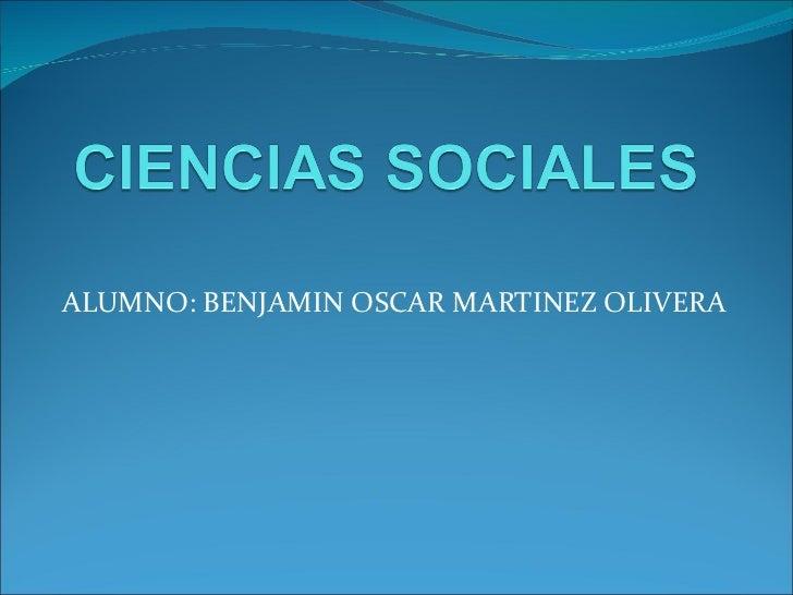 Presentacin ciencias sociales