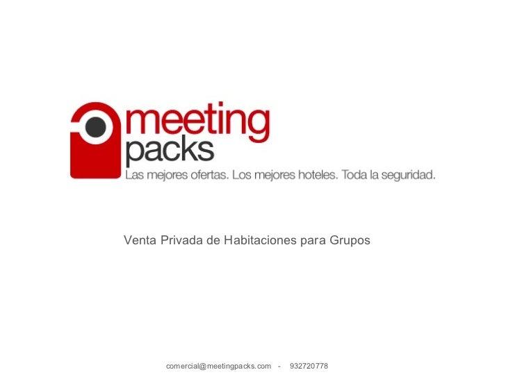 ¿Qué es meetingpacks?