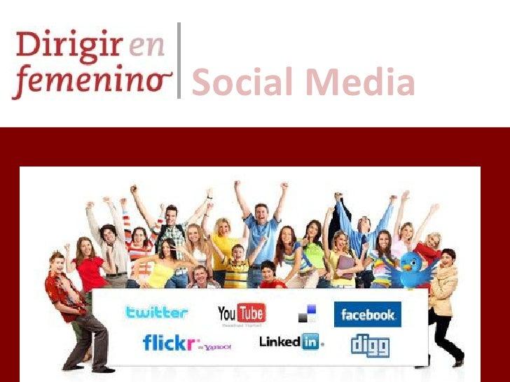 Presentación community manager   ene 2011