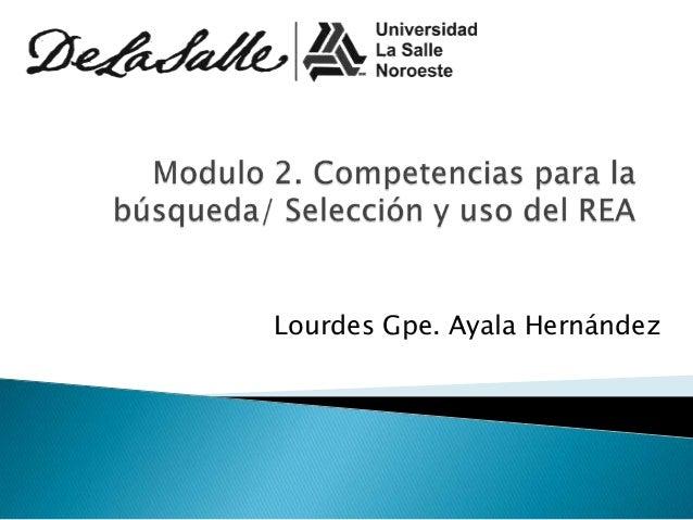 Lourdes Gpe. Ayala Hernández
