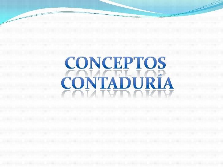 Presentación conceptos