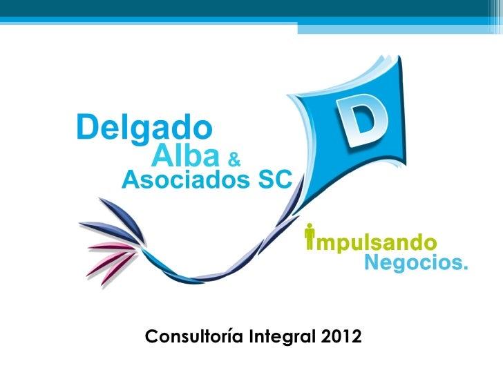 Consultoría Integral 2012