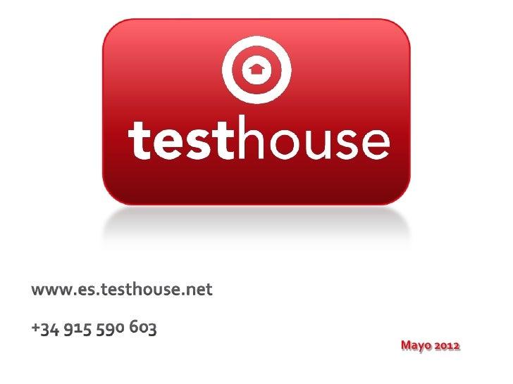 Presentación corporativa   testhouse consultores - v 3.9.1