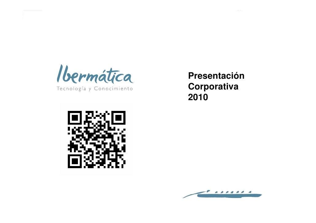 Ibermática - Presentación corporativa