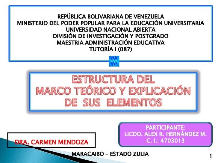 REPÚBLICA BOLIVARIANA DE VENEZUELA<br />MINISTERIO DEL PODER POPULAR PARA LA EDUCACIÓN UNIVERSITARIA<br />UNIVERSIDAD NACI...