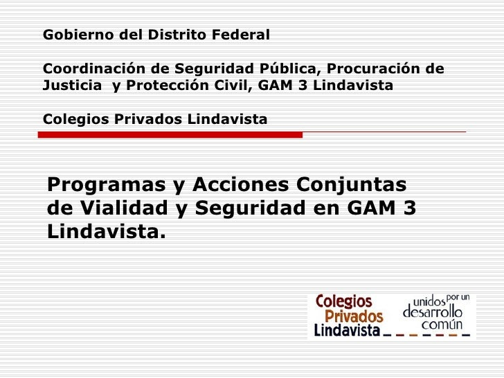Presidente Colegios Privados Lindavista