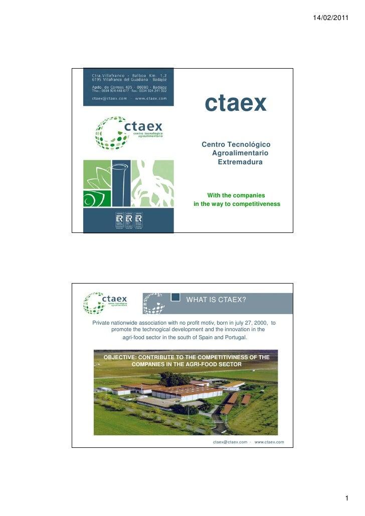 14/02/2011                                               ctaex                                              Centro Tecnoló...