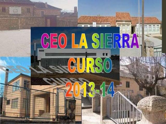 Presentación curso 2013 14