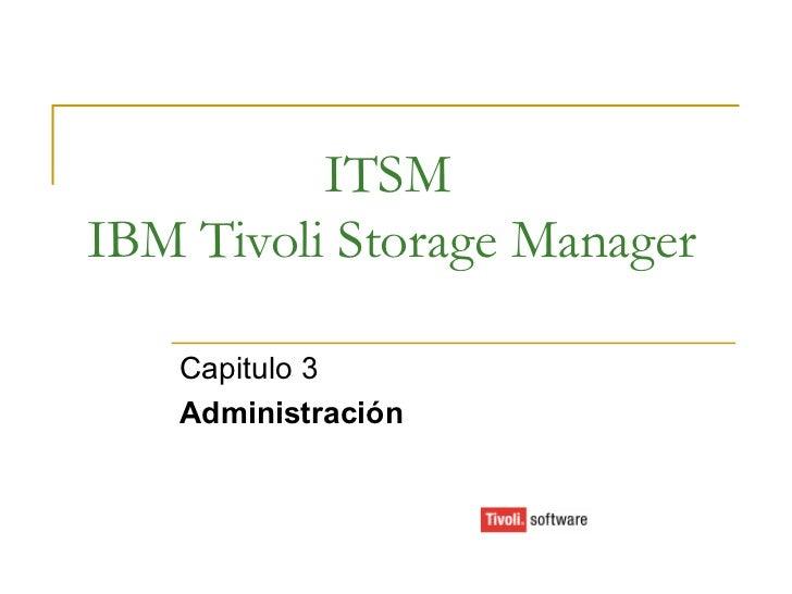 Presentación curso itsm cap3