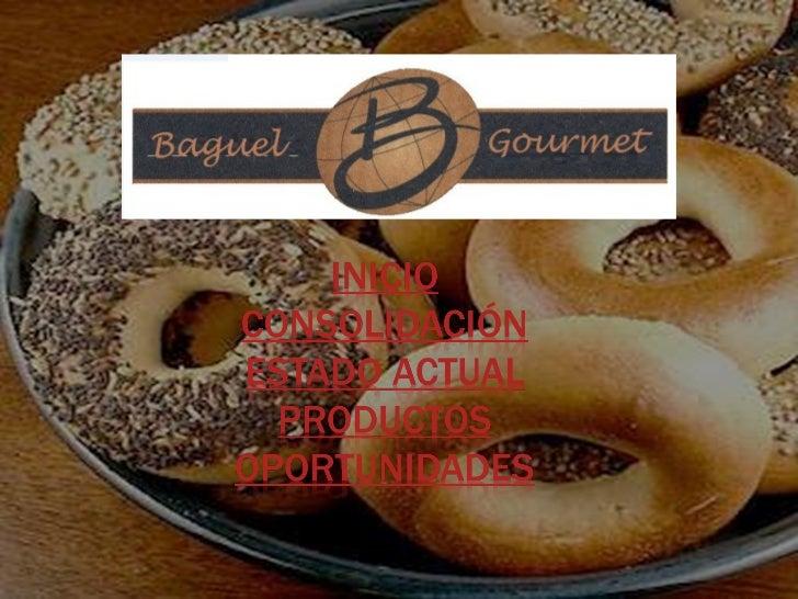 Empezando con un sueño de convertirse en lacadena de Bagel Gourmet mas grande deColombia y de ser mas competitivos en elme...