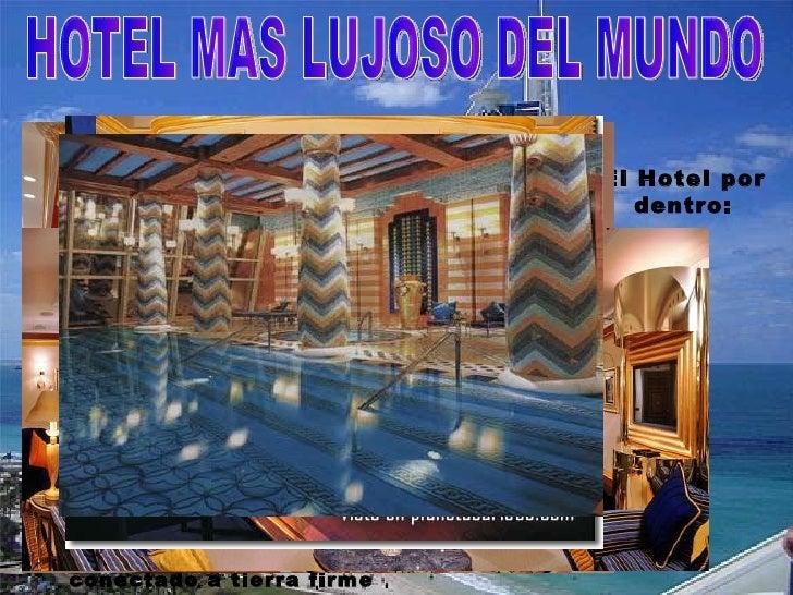 Presentaci n de dubai for Hotel bajo el agua precio