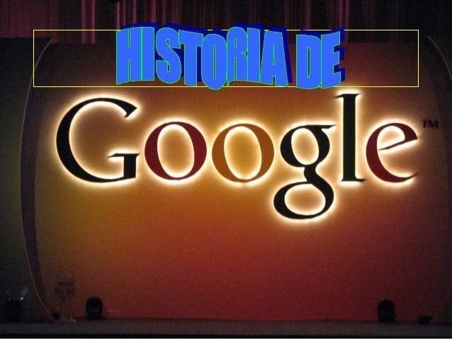 Presentaciòn de google