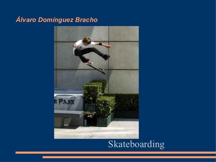 Álvaro Domínguez Bracho                          Skateboarding