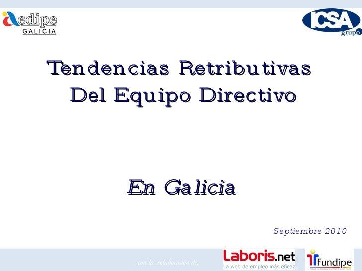 Presentación de informe de equipo directivo en galicia (ampliado)