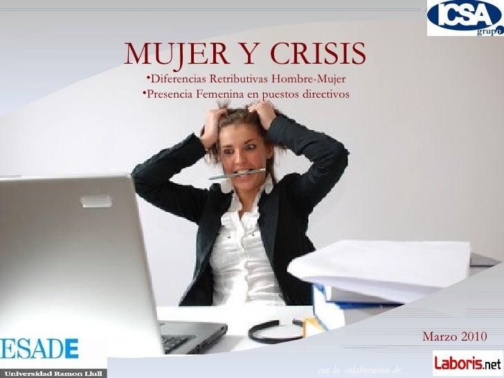 Informe De Mujer 2010