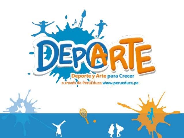 Presentación Programa DepArte 2013 - Aupicios
