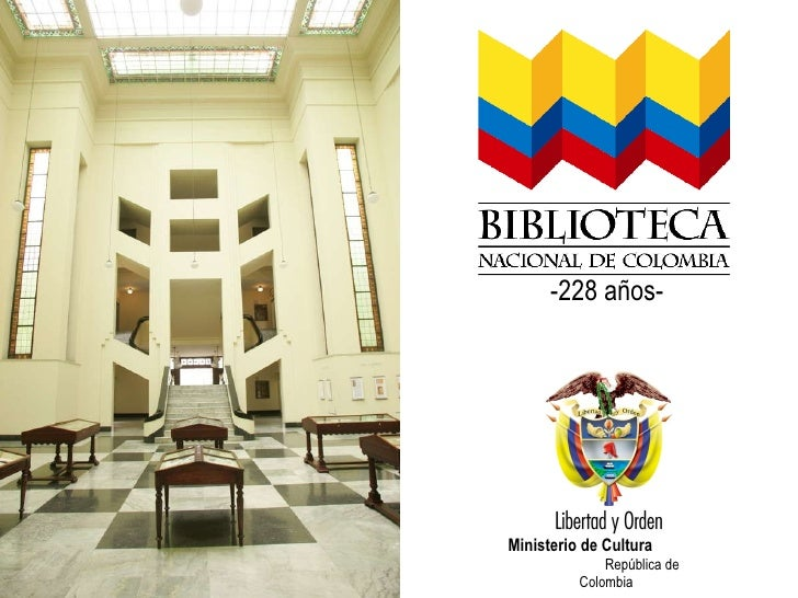 Fdfd -228 años- Ministerio de Cultura  República de Colombia