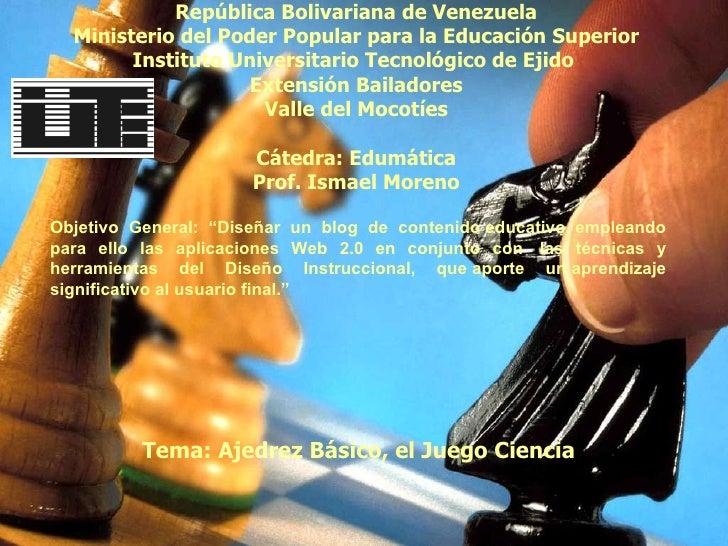 República Bolivariana de Venezuela Ministerio del Poder Popular para la Educación Superior Instituto Universitario Tecnoló...