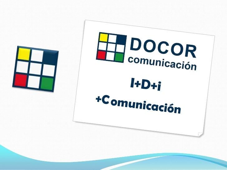 Presentación Docor Comunicación