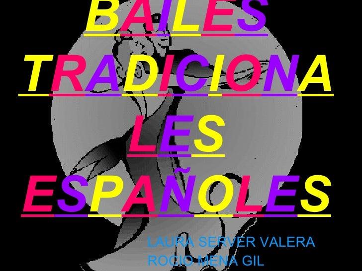 Bailes tradicionales españoles