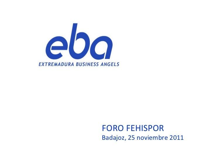 Extremadura Business Angels (EBA)