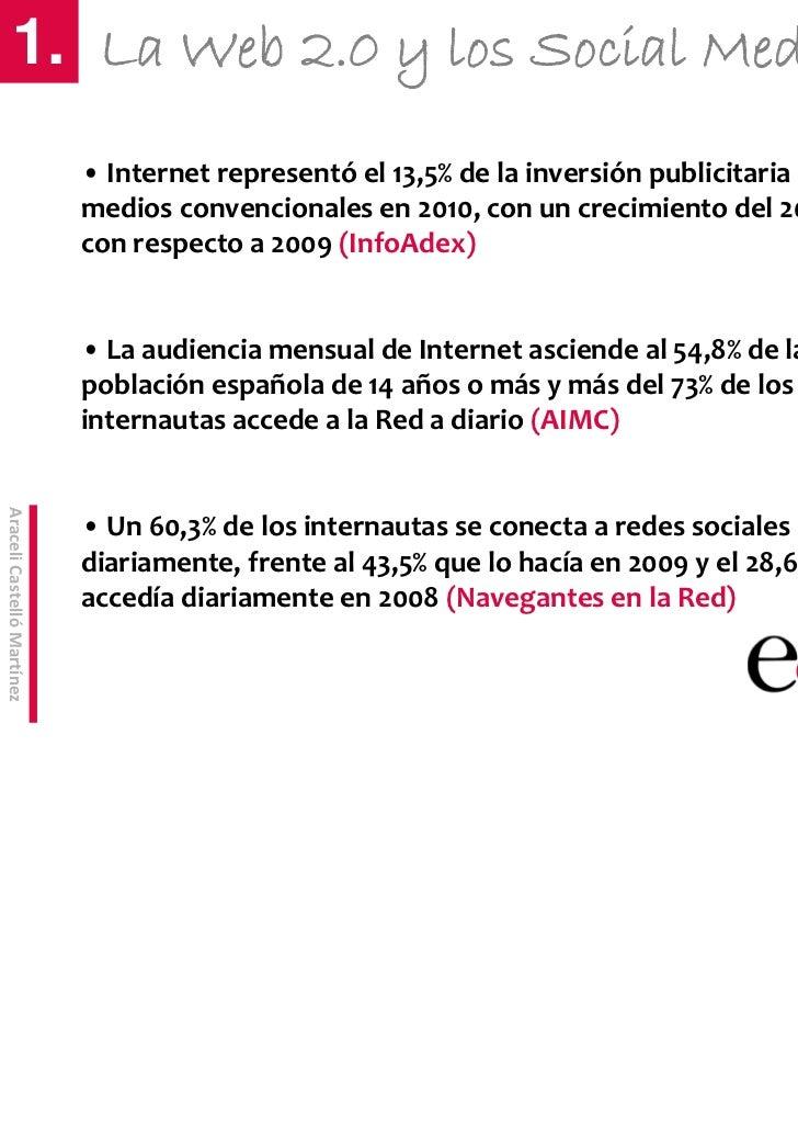 CursodeMarketingOnlineyRedesSociales        1. La Web 2.0 y los Social Media                            • Internetr...