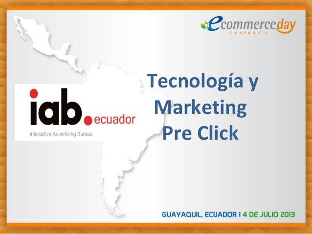 Tecnología y Marketing Pre Click