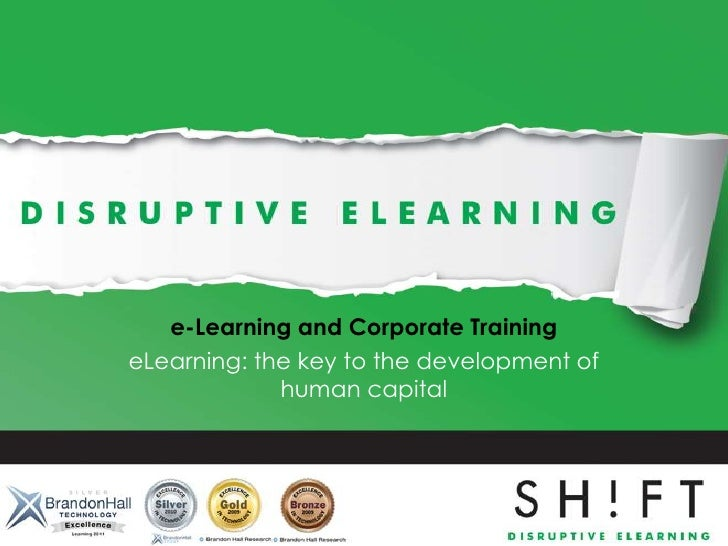 eLearning and corporate training