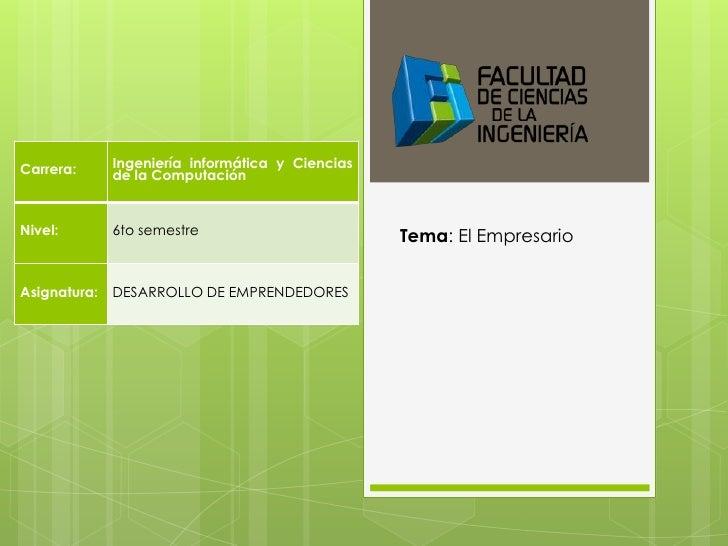 Carrera:      Ingeniería informática y Ciencias              de la ComputaciónNivel:        6to semestre                  ...