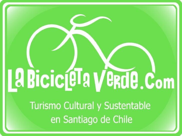 Presentación empresa La Bicicleta Verde