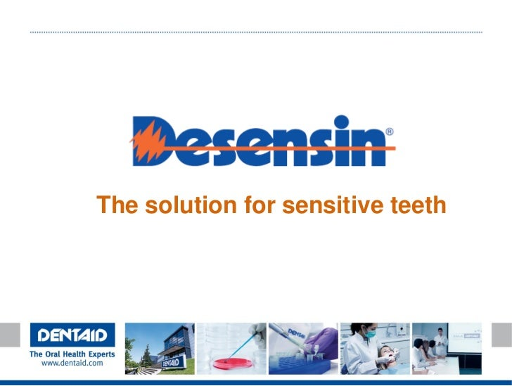 The solution for sensitive teeth
