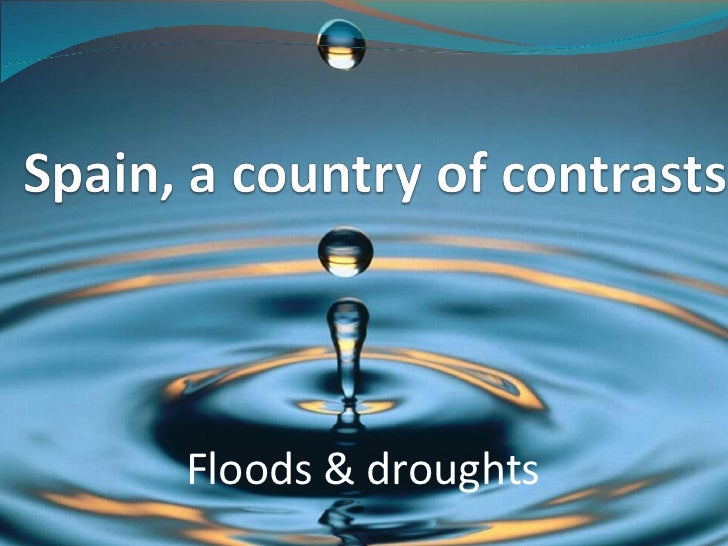 Floods & droughts