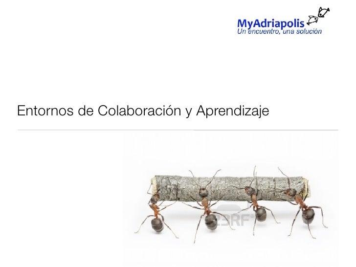 Presentación entornos de colaboración