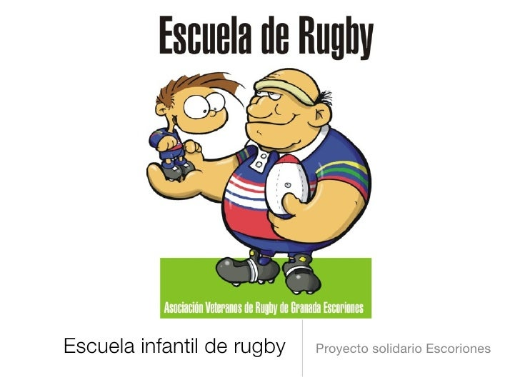 Escuela infantil de rugby   Proyecto solidario Escoriones